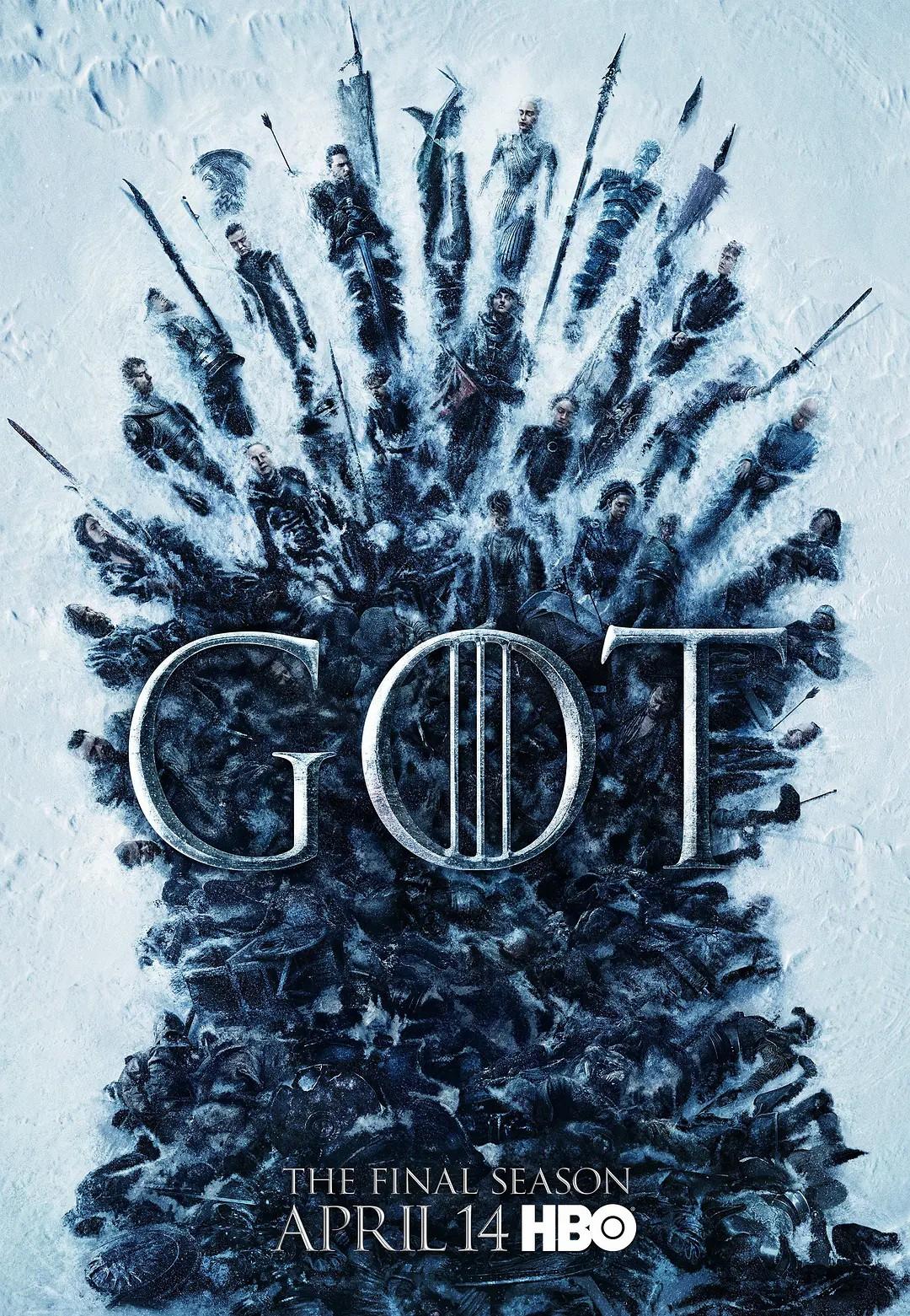 权力的游戏 第八季 Game of Thrones Season 8【8.46G】 1