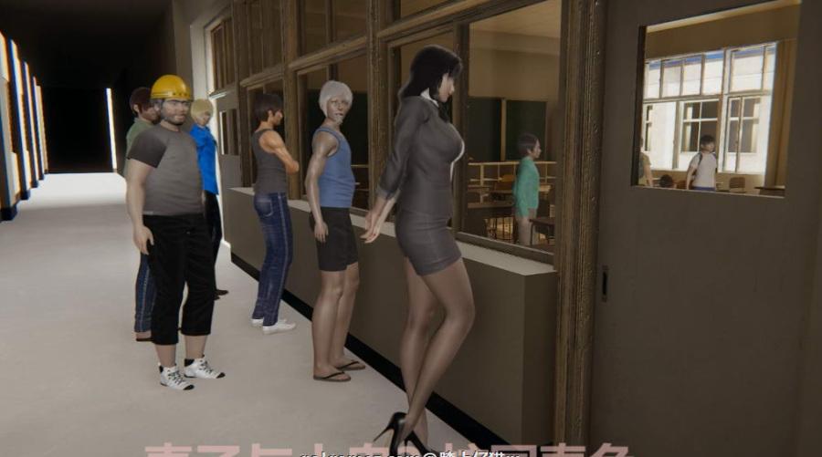 【3D同人/中文/全动态】妻子与小鬼【1-3】部1080HD版★小马拉大车