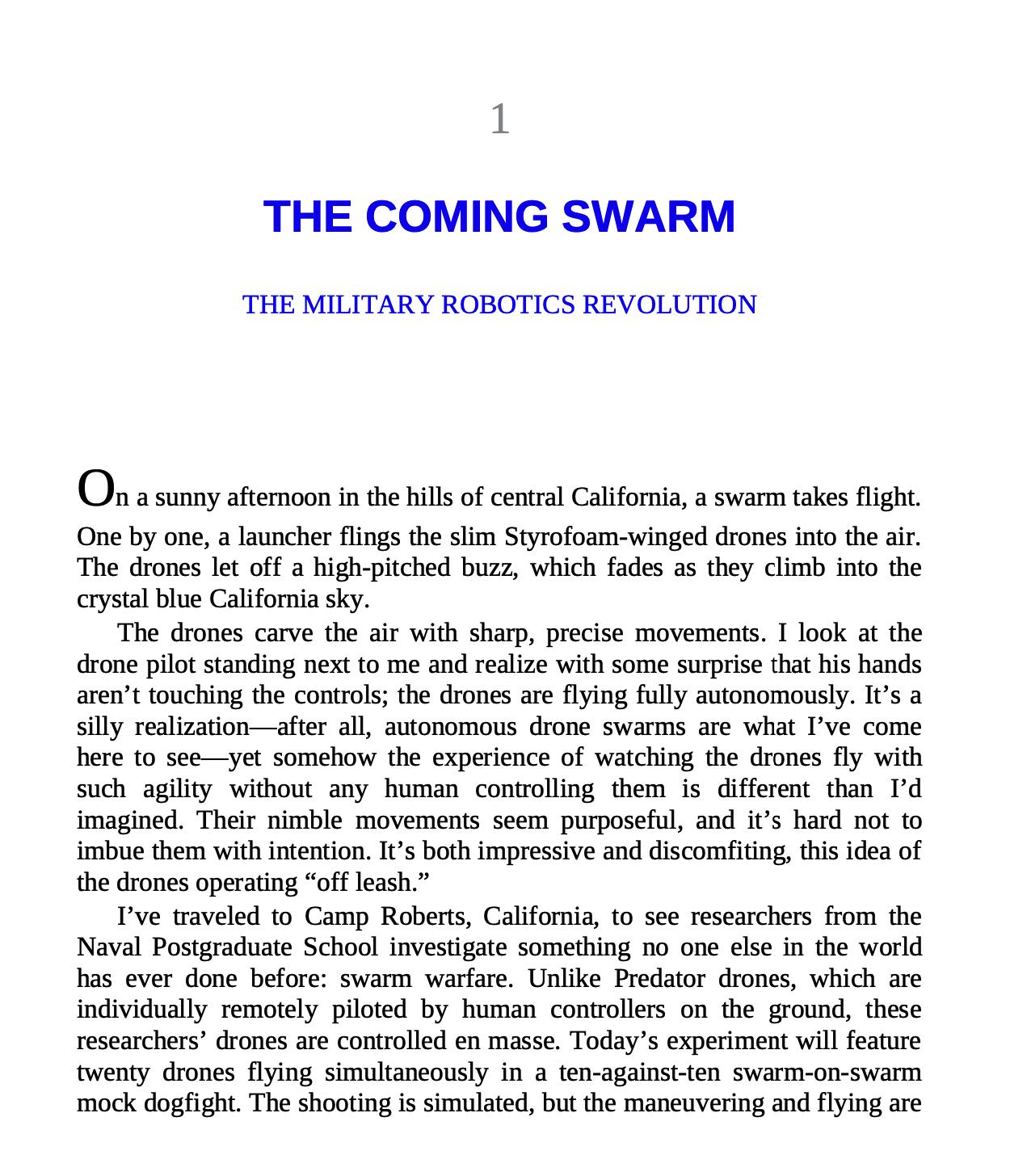 [英]Army of None: Autonomous Weapons and the Future of War 1