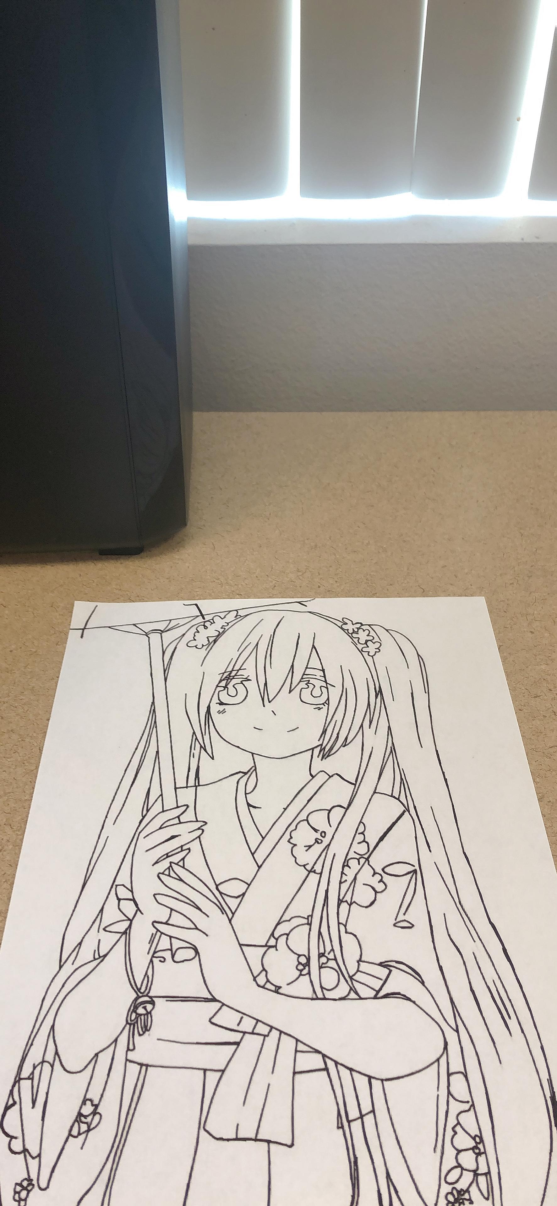 动漫手绘画 3