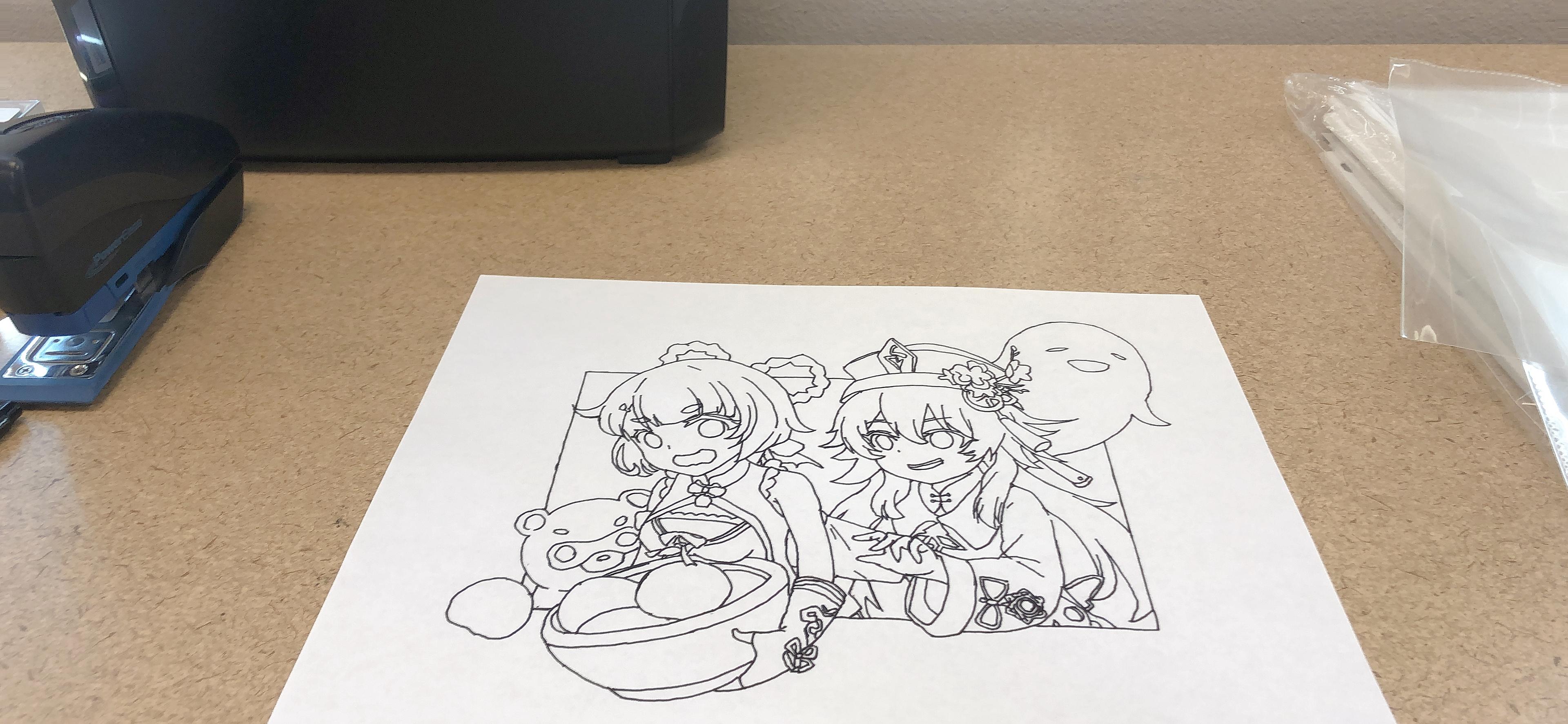 动漫手绘画 4