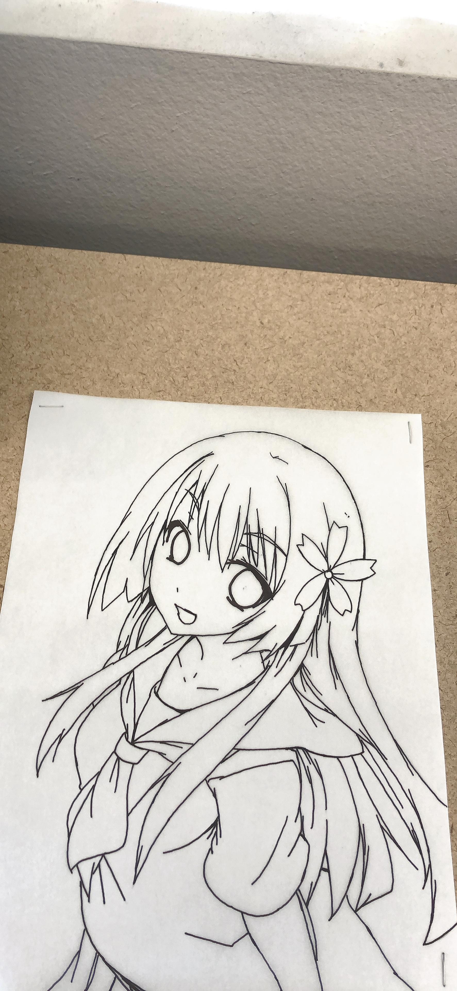 动漫手绘画 5