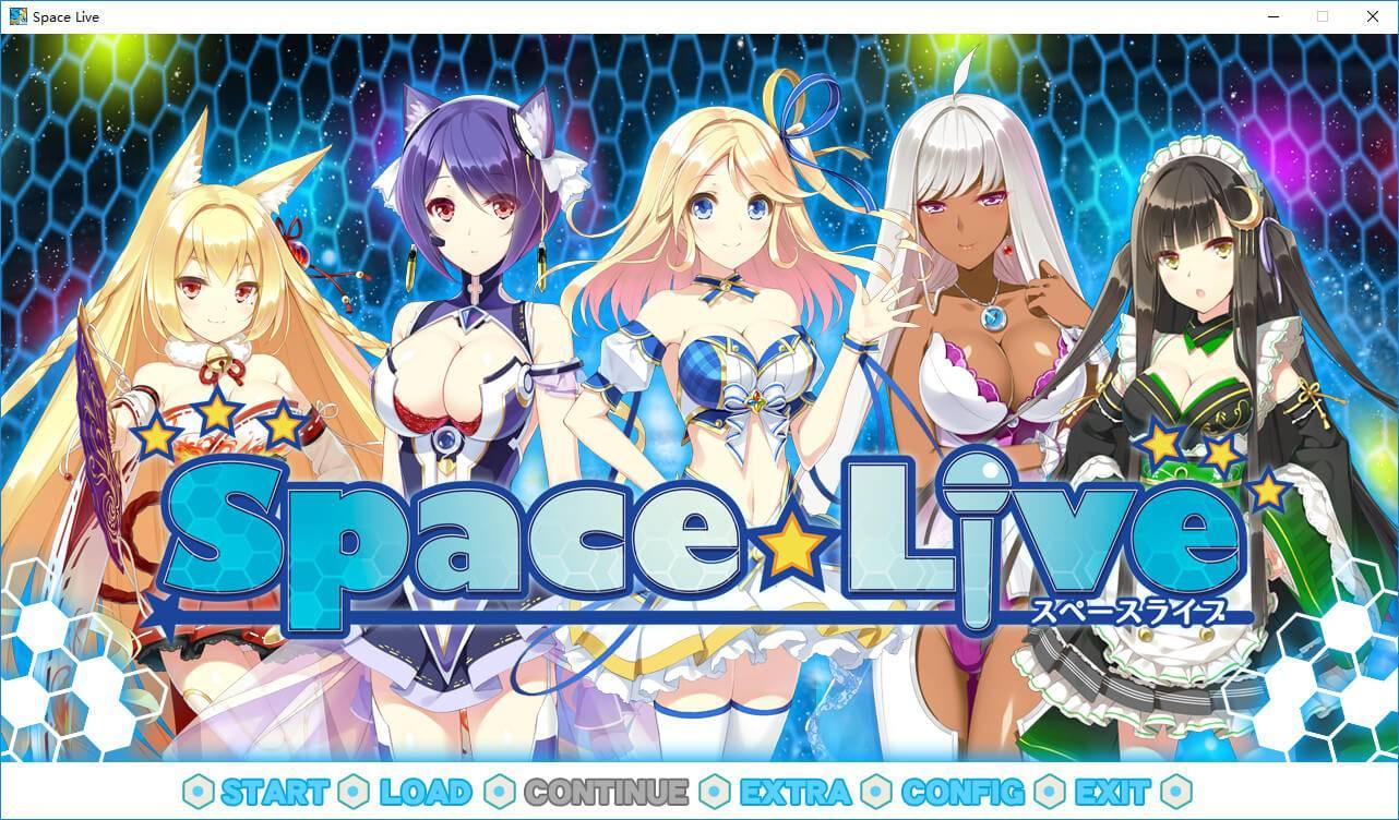 [汉化/ADV/PC]Space Live – Advent of the Net Idols[浏览器娘/420MB]