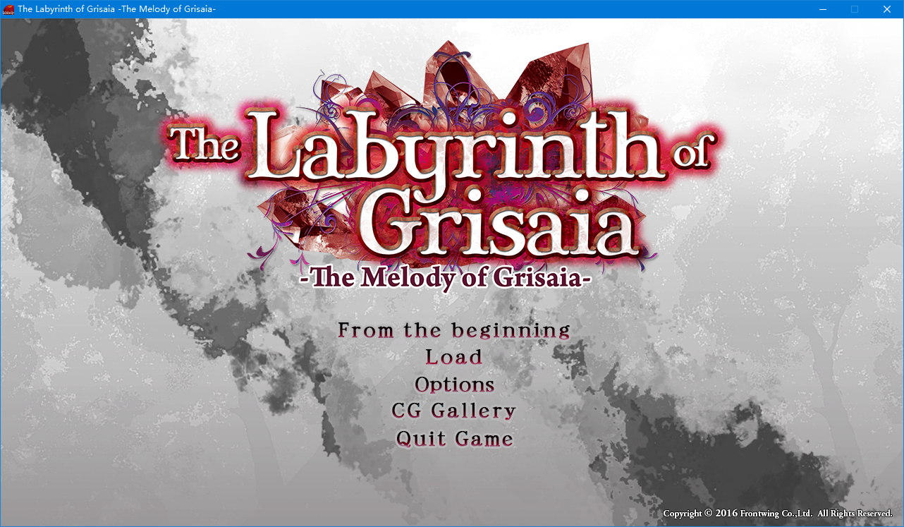 [生肉][ADV][PC] The Melody of Grisaia / 灰色的旋律 1