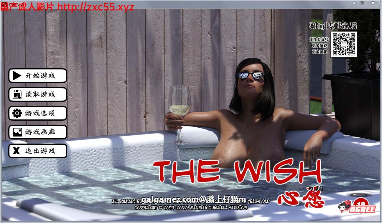 [欧美SLG/动态/母子乱伦/熟女]心愿:The Wish 精修汉化完结版+攻略[FM/百度/OD][PC+安卓/2G/巨乳肥臀]