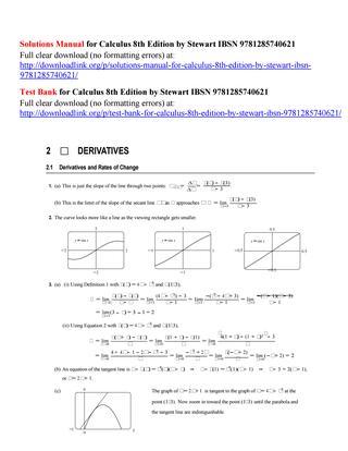 Calculus: Early Transcendentals[微积分/第九版/42 MB] 1