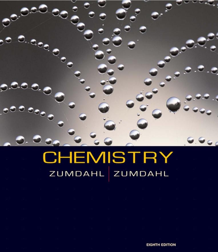 AP Chemistry课程教程 ZUMDAHL著 8th EDITION