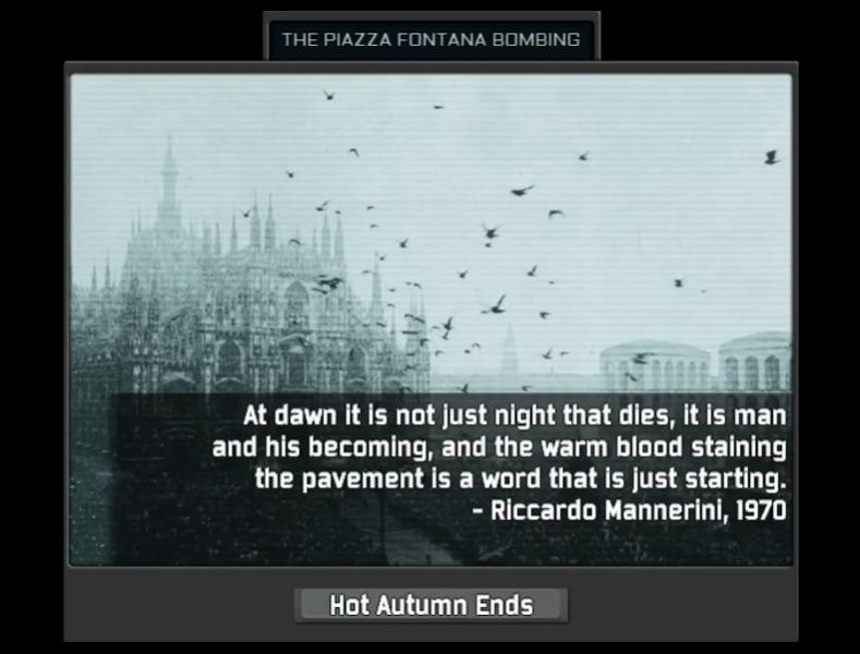 丰塔纳广场爆炸案:资产阶级对无产阶级的一次栽赃